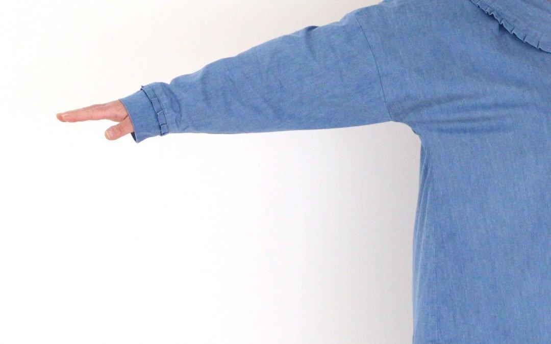 Lengthen /shorten the sleeve on Daisy shirt blouse